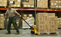 warehouse worker position available