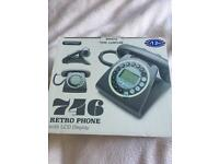 Retro Phone with LCD Display