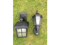 240v PIR outside light & One normal outside light