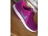 Nike purple shoes
