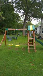Swing set only purchase last year.