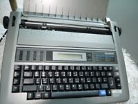 Panasonic Electric Typewriter KX-R193 Vintage great cond