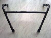 """gsxr srad 600 750 """"H"""" frame\mirror support"""