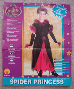 Spider Princess, Hippy, Witch, Angel Costumes - sz 8 to 12