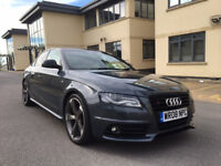 """2008 Audi A4 S-line 2.0 Tdi Diesel Grey 19"""" Alloy Black Edition in Perfect Condition!!!"""