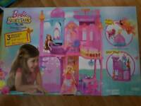 Barbie and the secret princess castle playset new