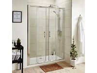 Shower enclosure 1700 x 800 with sliding doors, New, Boxed, free delivery in BS postcode area