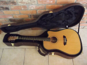 Washburn acoustic electric guitar