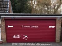 Garage roller shutter door remote control