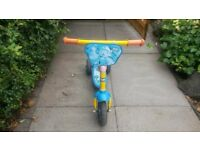 BOB THE BUILDER SCOOTER 2-4YRS