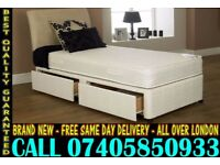 BRAND NEW Double Single King Size Dlvan Bed WITH MATTRESS. Tribune
