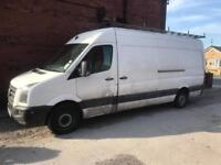 Vw crafter 2.5 tdi lwb breaking for spares 2008