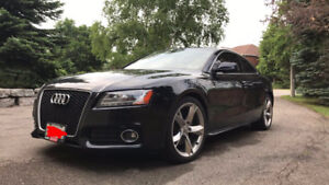 2011 Audi A5 Quattro FULLY LOADED S-Line with Winters, LOW KM'S