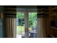 Linen curtains from Next