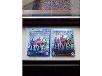 Power rangers (2017) brand new and sealed and sleeve