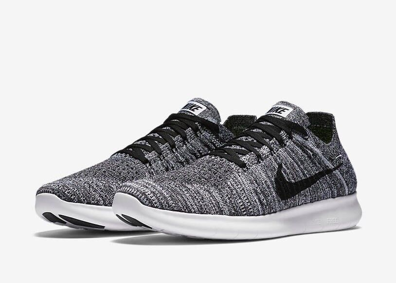 Trainers Nike RN Flyknit black/white