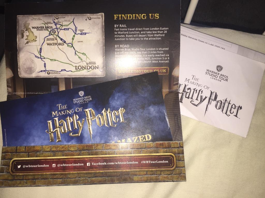 Harry Potter Studio Tour Tickets Sold Out