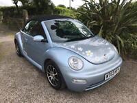 Vw Beetle 1.6 convertible
