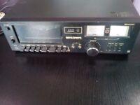 Vintage NATIONAL PANASONIC DECK 612 STEREO CASSETTE TAPE (Dolby system)