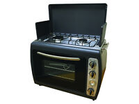 Outdoor Camping Portable Cooker Twin Hob Stove & Oven Brand New Still In Box £150 ono