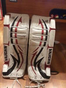 Goalie pads vaughn junior 28''+1