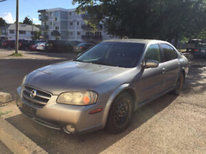 2003 NISSAN MAXIMA GXE 4DR