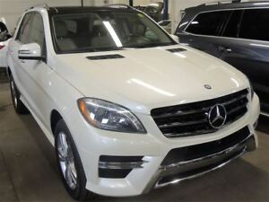 2014 Mercedes-Benz M-Class ML 350 BT, NAVI, 360 CAMERA, PANO ROO