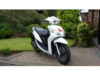 Honda Vision 49cc NSC 50 Scooter in White, 2015, Low Mileage