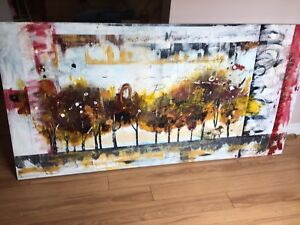 Bria Robertson paintings hand crafted canvases
