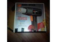 Black & decker heat gun & sander