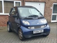Smart City Cabriolet For Sale!!!! £750 ono.