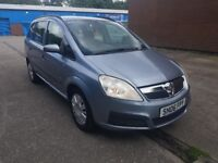 Vauxhall Zafira 1.9 CDTI 7 Seater Low Miles Long MOT Starts And Drives Bargin Price Px Clearance