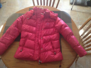 Nike pink winter coat