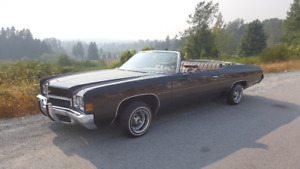1972 Chevy Impala convertible