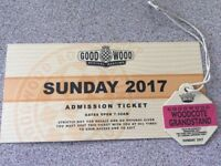 Goodwood Revival Ticket & Woodcote Grandstand pass