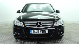 2011 Mercedes-Benz C Class C180 BLUEEFFICIENCY SE Petrol black Manual