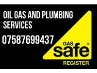Gas oil boiler services, installation, repairs and break downs
