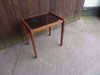 Glass Topped Side Coffee Table Delivery Available