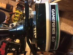 Sears game fisher 5.0 hp
