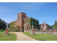 Gunthorpe Hall sleeping up to 48 - available for hire this autumn