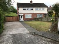 3 BEDROOM SEMI DETACHED HOUSE IN BELVOIR LARGE DRIVEWAY 15 GRAYS PARK AVENUE