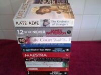 20 Paperback Books-All In Excellent Condition-Donated To Raise Funds For A Local Charity Group