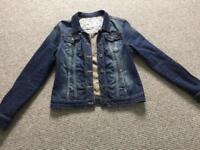 Crew Clothing Size 12 Denim Jacket