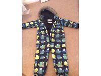 Next winter onesie coat age 3-4 boys