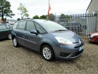 2009 Citroen GRAND C4 PICASSO 1.6 HDi 16v VTR+ EGS 5dr /Diesel / Automatic / 7 Seats