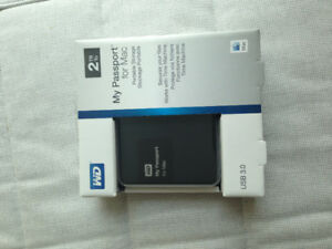 WD My Passport for Mac 2TB - Never used, in original package