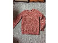 Red wool jumper - mens