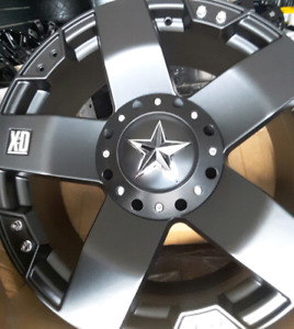 "4 NEW XD ROCKSTAR 6x139.7- 20x9""   WHEELS"