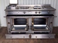 Lacornue Chateau 150cm rainge cooker in Stainless Steel RRP £36,000