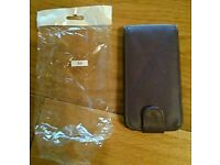 Samsung Galaxy S4 Purple Leather Type Case